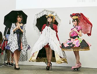 ゴシックロリータファッションコース 上田安子服飾専門学校